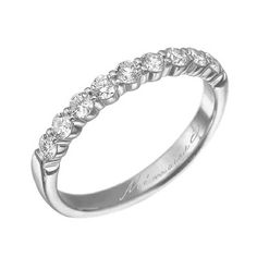Less expensive wedding band.