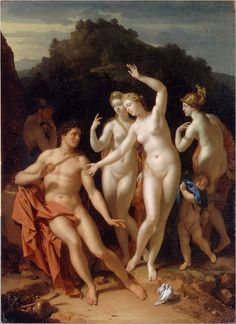 Paridův soud (Judgement of Paris) - Adriaen van der Werff