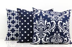 18 Decorative Pillow Covers for Couch by PillowsbyWillow on Etsy, $54.00