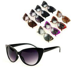 2016 Nuevas Mujeres Gafas de sol gafas de Protección Gafas de Sol Únicas de las mujeres Planas de La Vendimia D1