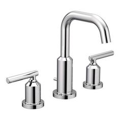Model: T6142 Gibson Chrome Two Handle High Arc Bathroom Faucet Msrp $274