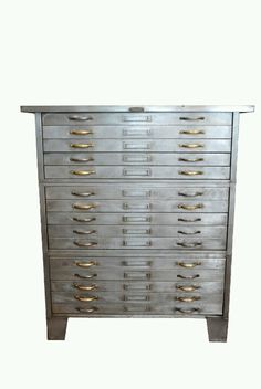 Mixed metal flat file.  Holy hell.