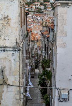 The streets of Dubrovnik Dubrovnik Croatia, Travel Tips, Street, Sunrise, Old Town, Travel Advice, Walkway