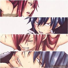 Find images and videos about fairy tail, erza and erza scarlet on We Heart It - the app to get lost in what you love. Fairy Tail Love, Image Fairy Tail, Anime Fairy Tail, Fairy Tail Family, Fairy Tail Couples, Fairy Tail Ships, Nalu, Fairytail, Erza Y Jellal