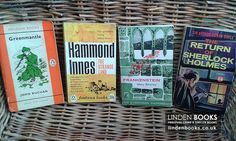 Vintage crime and thriller books. Available in our online shop.