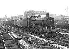 scanned negative at Diesel Locomotive, Steam Locomotive, Steam Railway, Abandoned Train, Birmingham Uk, British Rail, Train Engines, Great Western, Hill Station
