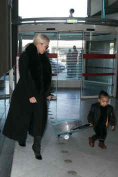 16 times North West was the perfect fashion intern.