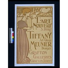 'L'Art Nouveau' (Poster)  Date: 1899 (printed)  Place: London  Artist/maker: Brangwyn, Frank William (Sir, RA