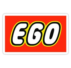 """EGO by Customize My Minifig"" Stickers by ChilleeW 