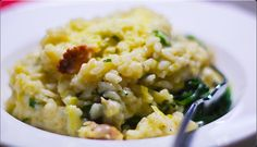 Chicken, Leek & Garlic Risotto substitute brown rice and cook 30 mins on last step Bellini Recipe, Breakfast Recipes, Dinner Recipes, Risotto Recipes, Cooking Recipes, Healthy Recipes, Good Enough To Eat, Main Meals, Food Hacks
