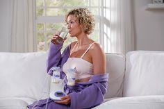 Lansinoh Breast Pump 2-in-1 Double Electric Breast Pump Breastfeeding Milk Breastpump