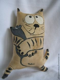 Ambrosial Make a Stuffed Animal Ideas. Fantasting Make a Stuffed Animal Ideas. Fabric Animals, Fabric Toys, Paper Toys, Cat Quilt, Cat Pillow, Cat Doll, Creation Couture, Sewing Dolls, Cat Crafts