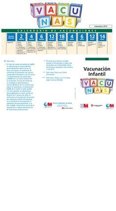 Calendario de vacunación 2015 Comunidad de Madrid