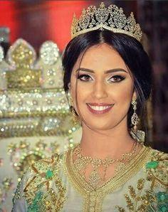 Moroccan Bride Moroccan Caftan Moroccan wedding Mashaa'ALLAH Moroccan Beauty