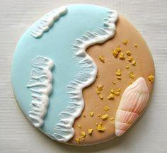 Seashore Cookie @adrienne Jarvis