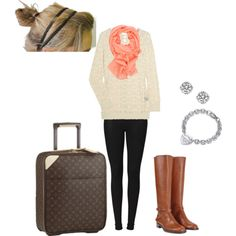 airplane outfit so easy and cute!!