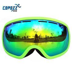 acf4fbfaf4 Copozz Big Frame Snow Ski Goggles Professional UV400 Anti fog Skiing · Best  SkisDownhill BikeSnowboarding ...