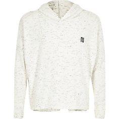 Girls white space dye hoodie