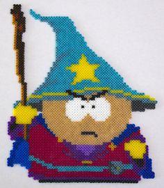 Cartman Wizard - South Park Stick of Truth - Hama / Perler bead