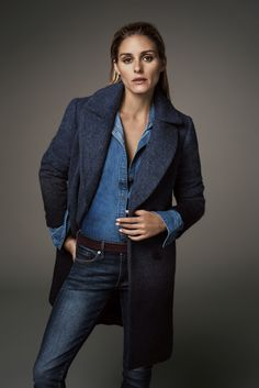 The 10-Piece Olivia Palermo Winter Capsule Wardrobe via @WhoWhatWear