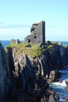 O'Driscoll Castle - County Cork, Ireland.
