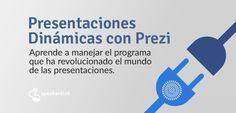 Próximo taller práctico en Barcelona para descubrir Prezi y aprender a crear presentaciones dinámicas fácilmente.