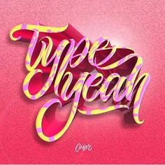 It's #typeyeahtuesdays and this weeks entry from @el_cesar2 is awwwwesome! Check out his profile for more typography goodness 🙌🏻 Join the Typeyeah Instagram Challenge by designing your best version of the 'Typeyeah' logo and post it to Instagram with the hashtag #typeyeahlogo. Each Tuesday a favourite will be selected and featured on the Typyeah Instagram page.
