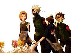 I wish... #Kakashi #Rin #Obito #Naruto #Sasuke #Ino #Sakura #Itachi