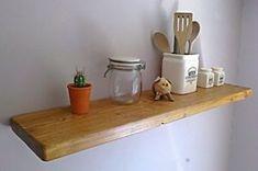 a cocina estante flotante de pino rustico estanterias 1 ft approx 030 m 6 ft approx 183 m entrega uk libre