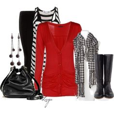 """""""Red & Black"""" by lagu on Polyvore"""
