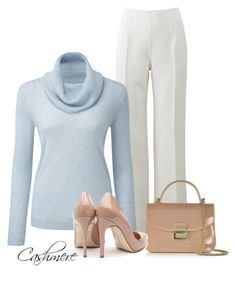 Cashmere by billi29 on Polyvore featuring Michael Kors, Rupert Sanderson and Furla