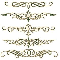 decor by on DeviantArt Page Borders Design, Border Design, Pattern Design, Motif Arabesque, Graffiti Lettering, Scroll Design, Stencil Painting, Rangoli Designs, Graphic Design Typography