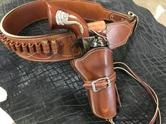 Cowboy Holsters, Western Holsters, Pistol Holster, Leather Holster, Single Action Revolvers, Cowboy Action Shooting, Cowboy Pictures, Cowboy Gear, Leather Projects