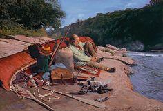 John Buxton. Historical Artist/Painter
