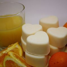 Fresh Squeezed Oranges Soy Wax Melts | blackberrythyme - Candles on ArtFire