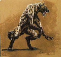 concept art de hobres hiena - Buscar con Google