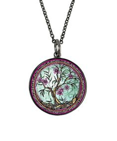 This Tree of Life 'Live Laugh Love' Pendant Necklace by Spirit Lala is perfect! #zulilyfinds