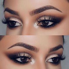 Resultado De Imagen Para Maquillaje Para Vestido Negro Maquillajes - Maquillaje-negro