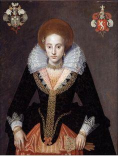 Susanna van Meckema 1625. Artist unknown. Groninger Museum.