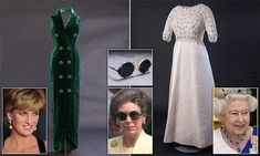 Princess Diana's Catherine Walker Dress Displayed at Kensington Palace | Daily Mail Online