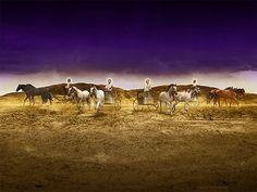 Zechariah's Vision of Four Chariots (Zechariah 6:1-8)