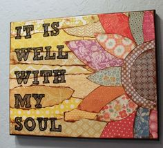 Canvas Scripture Art by MessyGirlArt on Etsy, $24.00 by janet