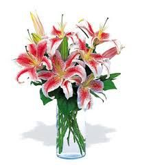 Image result for oriental lily arrangement