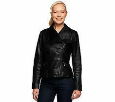 G.I.L.I. Distressed Leather Motorcycle Jacket