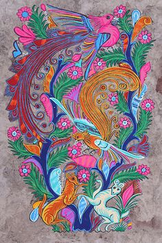 Amate Bark Painting