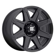 "New Dick Cepek Wheel DC Terrain in Matte Black available in 17' and 20"" at www.ntwonline.com"