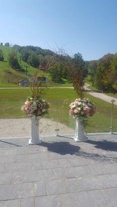 Ski club wedding