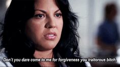 Shonda better have GREAT things happening for Callie this season.