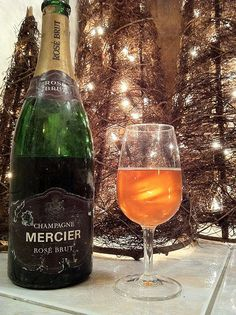 Champagne Mercier Rosé Millésime 1969