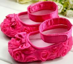 Classy Rose Belle Ankle Strap Shoes for Baby Girl 591dfef12